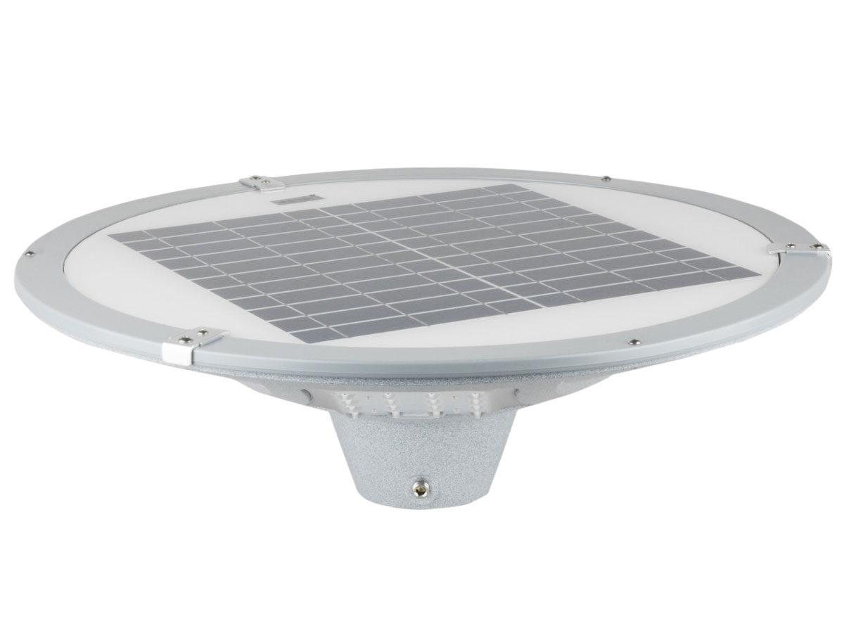 Wagan 900 Lumen Integrated Solar Street Light - 48 x Epistar LEDs - 900 Lumens - Head Only
