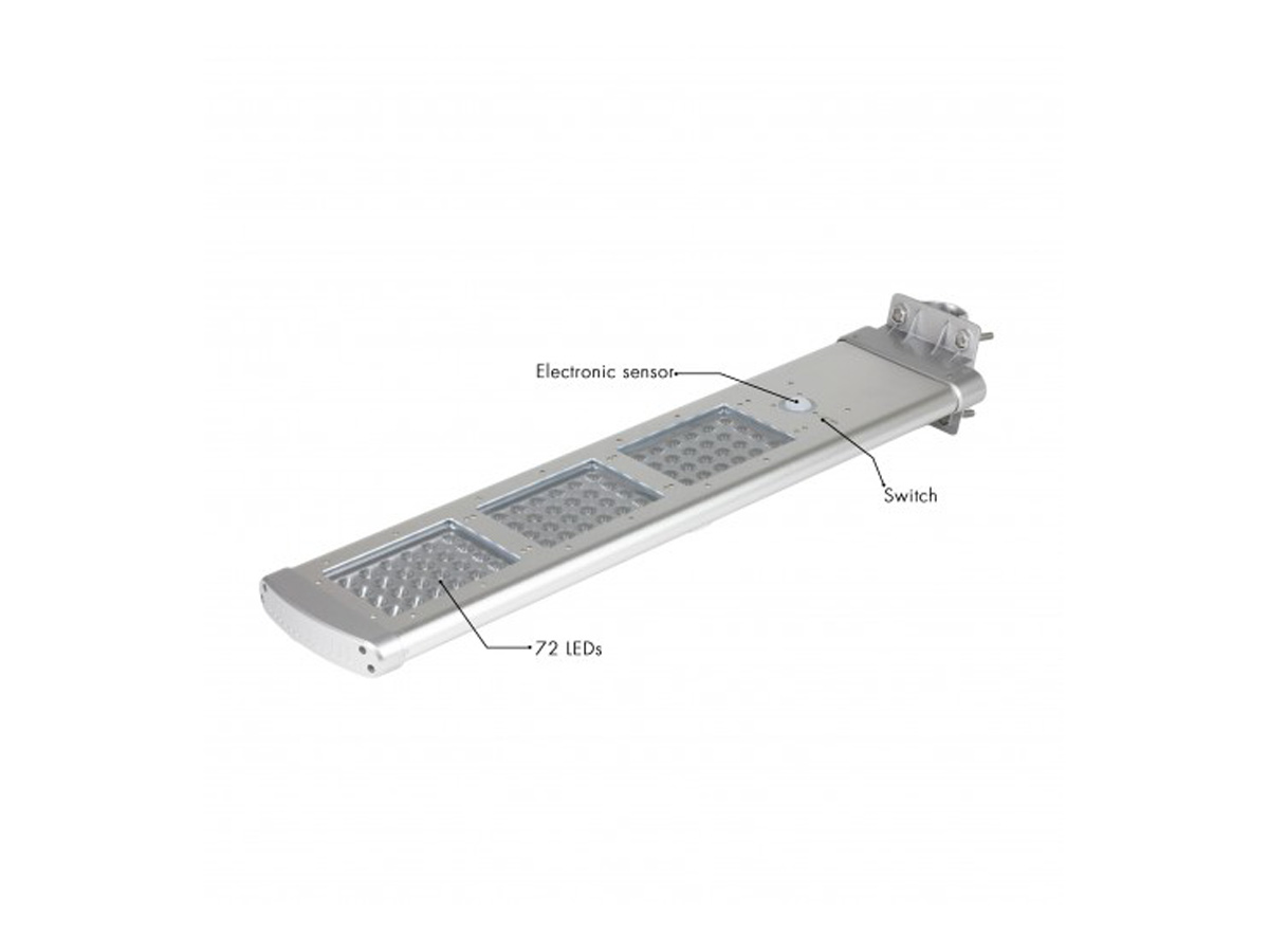 3000 Lumens Wagon LED solar light