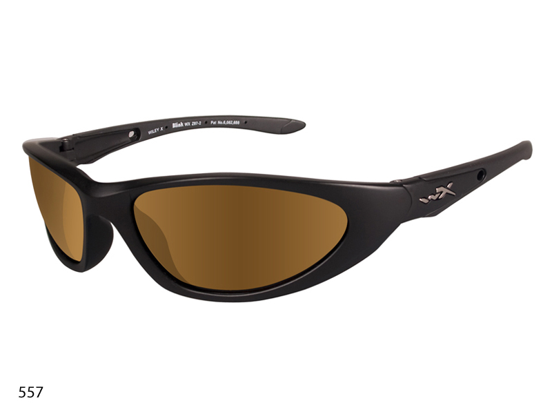 Wiley X Blink Sunglasses with High Velocity Protection Climate Control Series in Various Color Schemes (553 555 556 557 558)