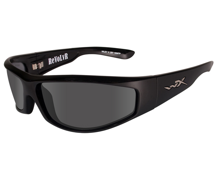 Wiley X Revolvr Sunglasses with High Velocity Protection Street Series in Various Color Schemes (SSREV3 & SSREV8)