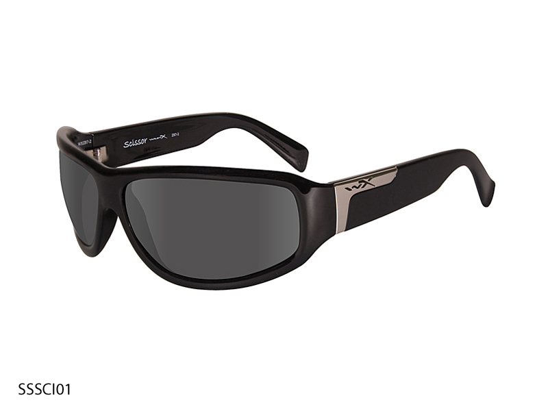 Wiley X Scissor Sunglasses with High Velocity Protection Street Series in Various Color Schemes (SSSCI01)