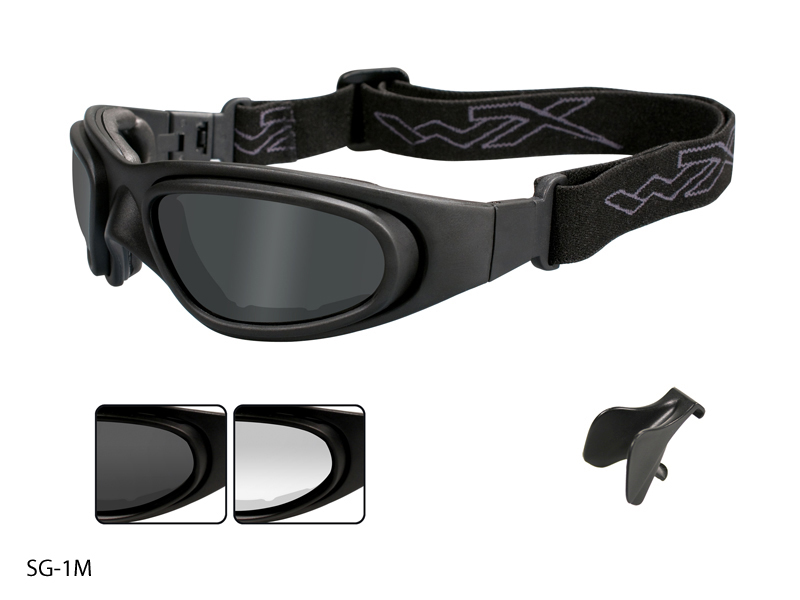Wiley X SG-1 Goggles with High Velocity Protection in Various Color Schemes (70 71 SG-1M 77)