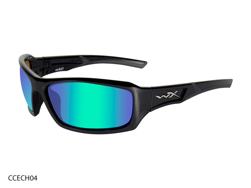 Wiley X WX Echo Sunglasses with High Velocity Protection Climate Control Series in Various Color Schemes (CCECH01 CCECH04 CCECH05)