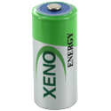 Xeno XL-055F 2/3AA 1650mAh 3.6V Lithium Thionyl Chloride (LiSOCI2) Button Top Battery - Bulk
