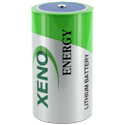 Xeno XL-205F D-cell 19000mAh 3.6V Lithium Thionyl Chloride (LiSOCI2) Button Top or Battery with Tabs - Bulk