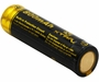 Xtar 14500 800mAh 3.7V Protected Lithium Ion (Li-ion) Button Top Battery - Boxed