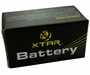 Xtar RCR123A / 16340 650mAh 3.6V Protected Lithium Ion (Li-ion) Button Top Battery - Boxed