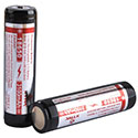 Xtar Panasonic NCR 18650 3100mAh 3.6V Protected High-Drain 3.54A Lithium Ion (Li-ion) Button Top Battery - Boxed