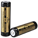 Xtar Panasonic NCR 18650 2900mAh 3.6V Unprotected High-Drain 10A Lithium Ion (Li-ion) Button Top Battery - Boxed